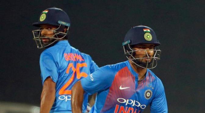 Shikhar & Pant