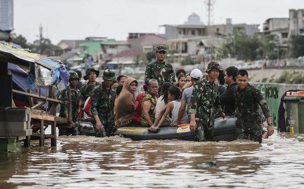 Jakarta Floods: Recovery Effort begins as city counts cost of worst deluge in a decade