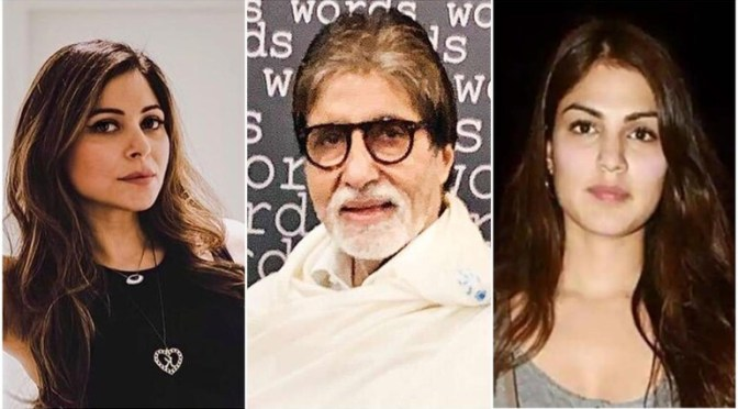 Kanika Kapoor, Big B, Rhea Chakraborty top Google India's Most Searched People 2020 list