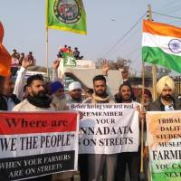 Bharat bandh: India farmers protest against law