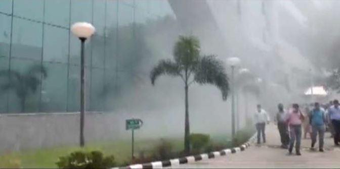 Fire breaks out at CBI office in Delhi, 5 fire tenders rushed to spot