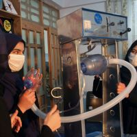 Afghan all-girl robotics team members land in Mexico